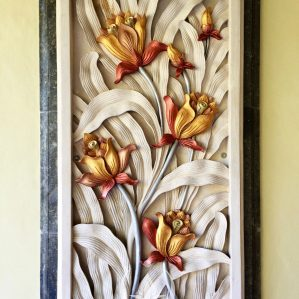 Stone Carving Flowers – Bali
