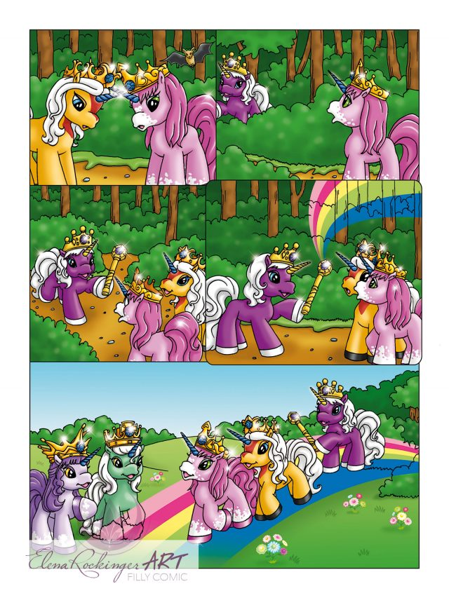 Filly Comic Rainbow 1101 page 2