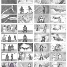Storyboard Star Wars Fanproject