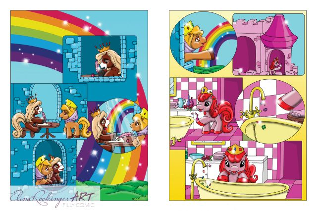 Filly Comic Special 1003 page 1