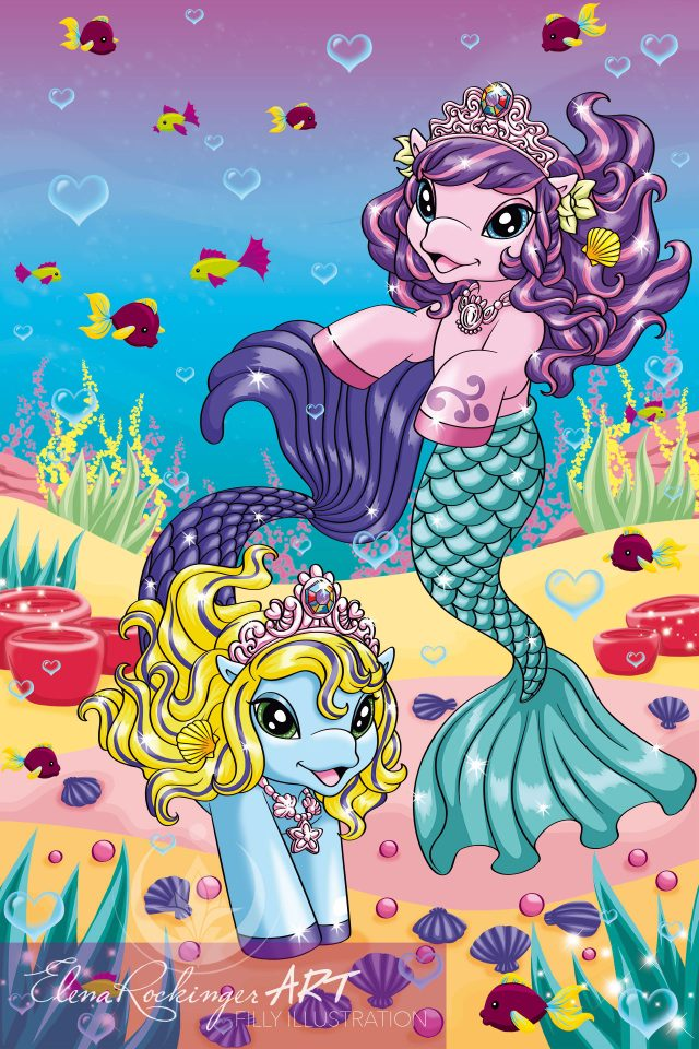 Cover Illustration Filly Mermaids 1302